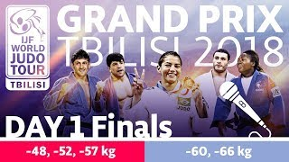 Judo Grand-Prix Tbilisi 2018: Day 1 - Final Block