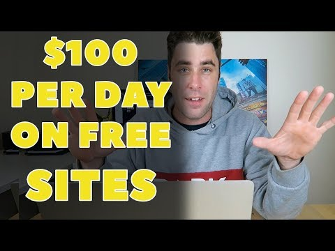 Make Money Online With FREE Wordpress & Wix Websites $100 A Day Method( free 100% 2017)