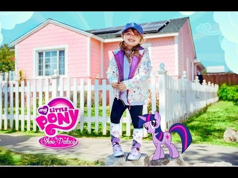 07dab5547c5 MY LITTLE PONY MOVIE SHOE PALACE KIDS SNEAKERS   CLOTHES KIDS UNBOXING   MyLittlePony