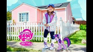 MY LITTLE PONY MOVIE SHOE PALACE KIDS SNEAKERS & CLOTHES UNBOXING WITH THE DELZY SISTERS