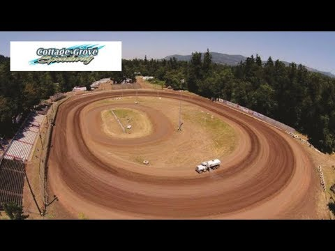 Sprint Car A Main at the Cottage Grove Speedway! (Live)