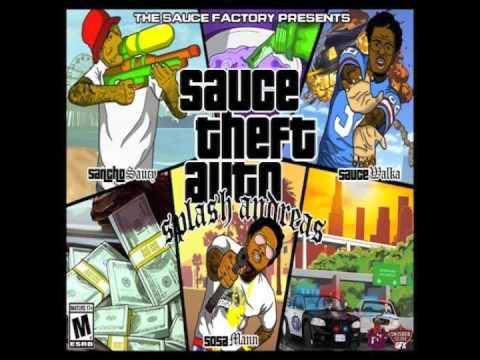 "Sauce Twinz & SosaMann - ""I Don't Care"" (Prod by. Nard & B) | (Sauce Theft Auto)"