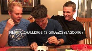 Americans Eat Ginamos (Bagoong)