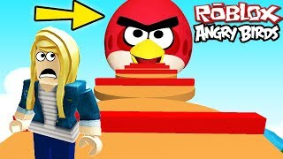 """""""ANGRY BIRDS VS ROBLOX OBBY"""" (Roblox Lego Angry Birds, Angry Birds in Roblox, Mobile Game)"""