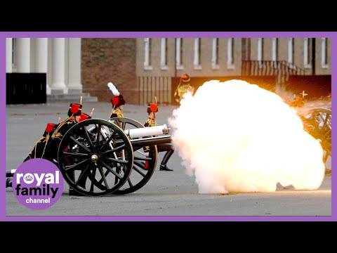 Gun Salutes Performed for Prince Philip Across United Kingdom