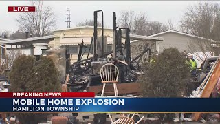 2 people injured after explosion, fire in south Columbus
