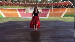 Дробь и игра ног в сценическом цыганском танце от Венеры Ферарь