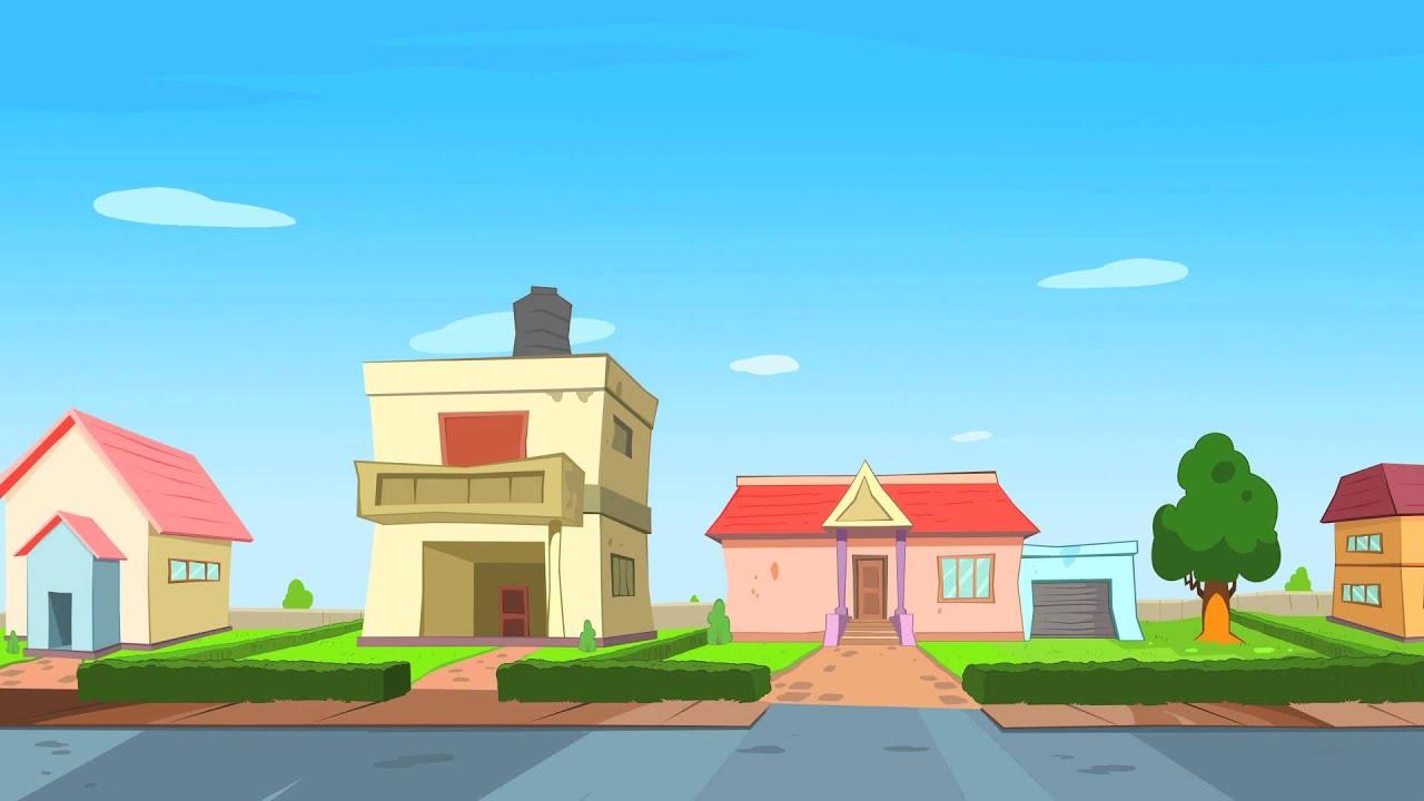 Rat a tat chotoonz kids cartoon videos 39 home for Wallpaper home cartoon