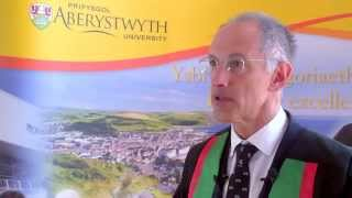 Sir Michael Moritz, Fellow of Aberystwyth University.