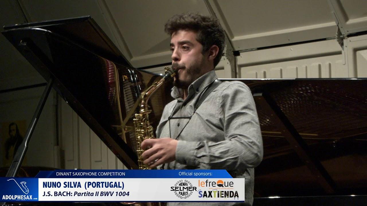 Nuno Silva (Portugal) - Partita II BWV1004 by J S  Bach (Dinant 2019)