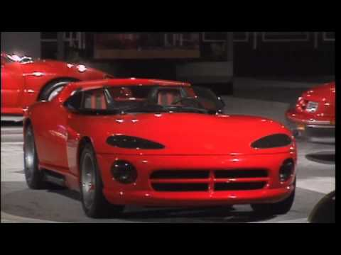Dodge Viper History 1988 to 2014 (from Concept to Generation-5 SRT-10 Viper)
