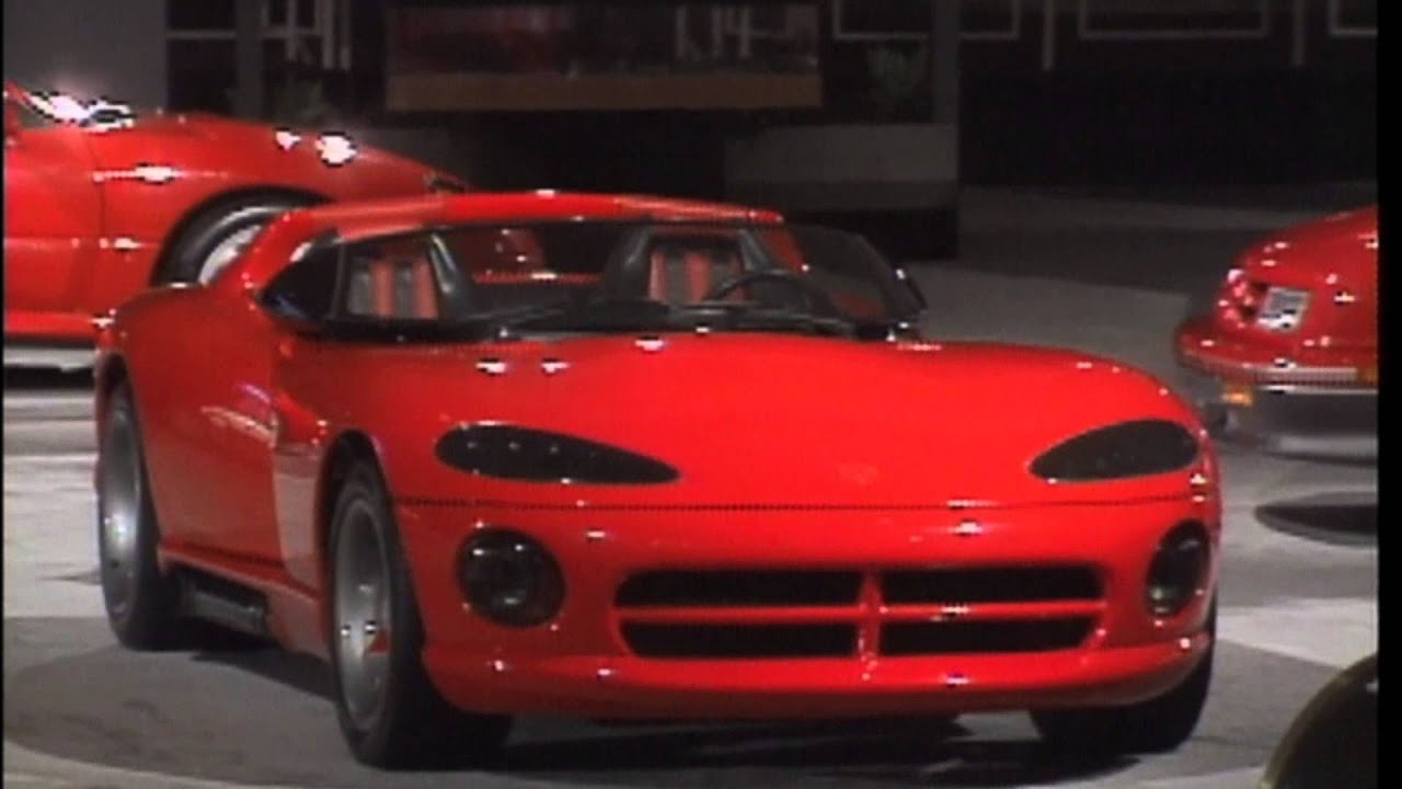 Dodge Viper History 1988 to 2014 (from Concept to Generation-5 SRT-10 Viper) - YouTube