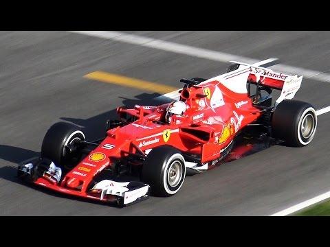 Sebastian Vettel | Ferrari SF70-H F1 2017 Test by Jaume Soler