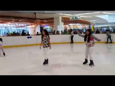 BONDING WITH BUDDY ARWEN ICE SKATING @ Much More Fun in Cebu Philippines