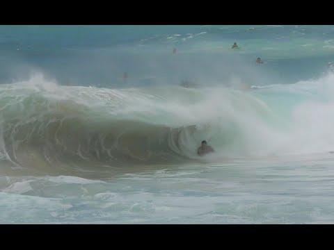 Big Surf Sandy Beach, Hawaii 2016
