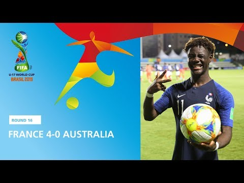 France V Australia Highlights - FIFA U17 World Cup 2019 ™