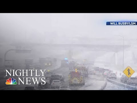 Dangerous Weather Could Disrupt Thanksgiving Travel | NBC Nightly News