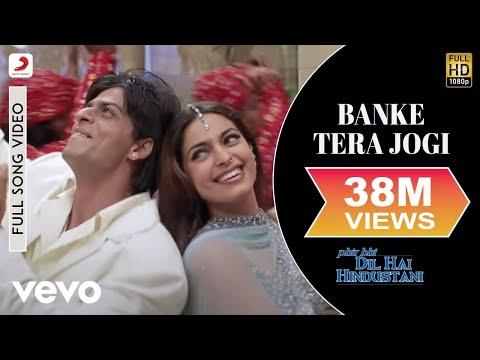 Banke Tera Jogi - Phir Bhi Dil Hai Hindustani | Shah Rukh Khan | Juhi Chawla