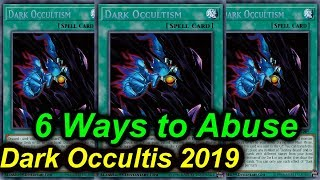 Gambar cover 【YGOPRO】6 WAYS TO ABUSE DARK OCCULTISM 2019