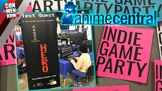 INDY GAME PARTY @ ACEN 2018 | TEXT QUEST INTERVIEW w/ Chris Ingerson