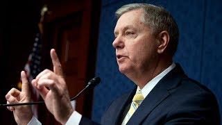 Senator Lindsey Graham pays tribute to John McCain on the Senate floor