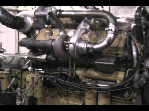 Cat Quad Turbo Peec Engine