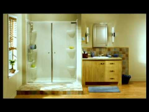 MAAX Collection walls and bases shower installation - YouTube