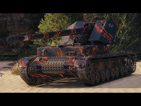 World of Tanks Waffenträger auf Pz. IV - 6 Kills 9,8K Damage