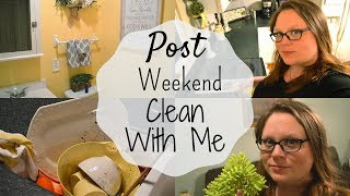 After The Weekend Clean with Me I Cleaning Motivation I Speed Clean #cleanwithme #cleaningmotivation