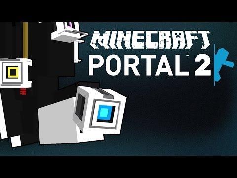 Glados in minecraft 2 (best portal 2 ending in minecraft)
