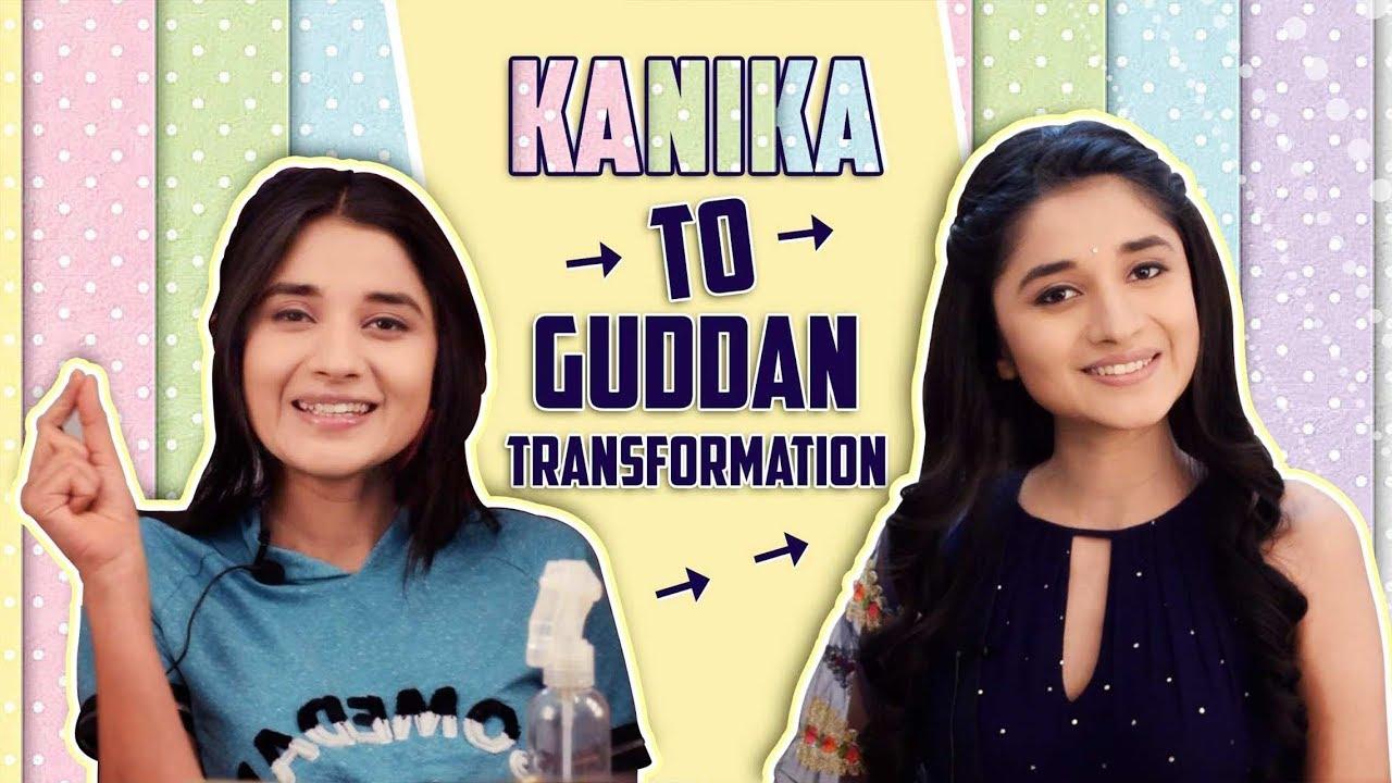 Kanika aka Guddan shares her makeup look| Exclusive| Guddan Tumse Na Ho Payega| Zee Tv