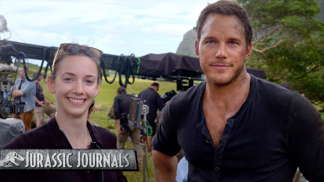 Chris Pratt's Jurassic Journals: Kelly Krieg (HD)