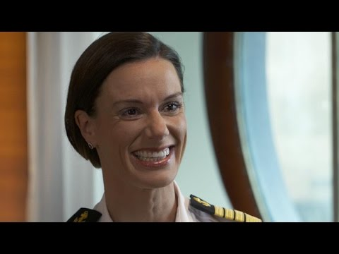 Kate McCue becomes first American woman to captain cruise sh