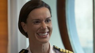 Kate McCue becomes first American woman to captain cruise ship