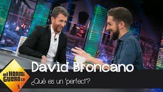 David Broncano le explica a Pablo Motos lo que es un 'perfect' - El Hormiguero 3.0