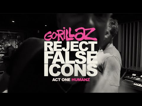 Mike Jones - Watch The New Gorillaz Movie 'Reject False Icons'