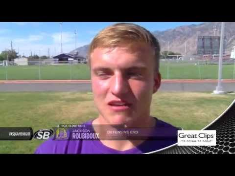 Game Night Live 09/02/2016 Box Elder High School vs Bear River High School