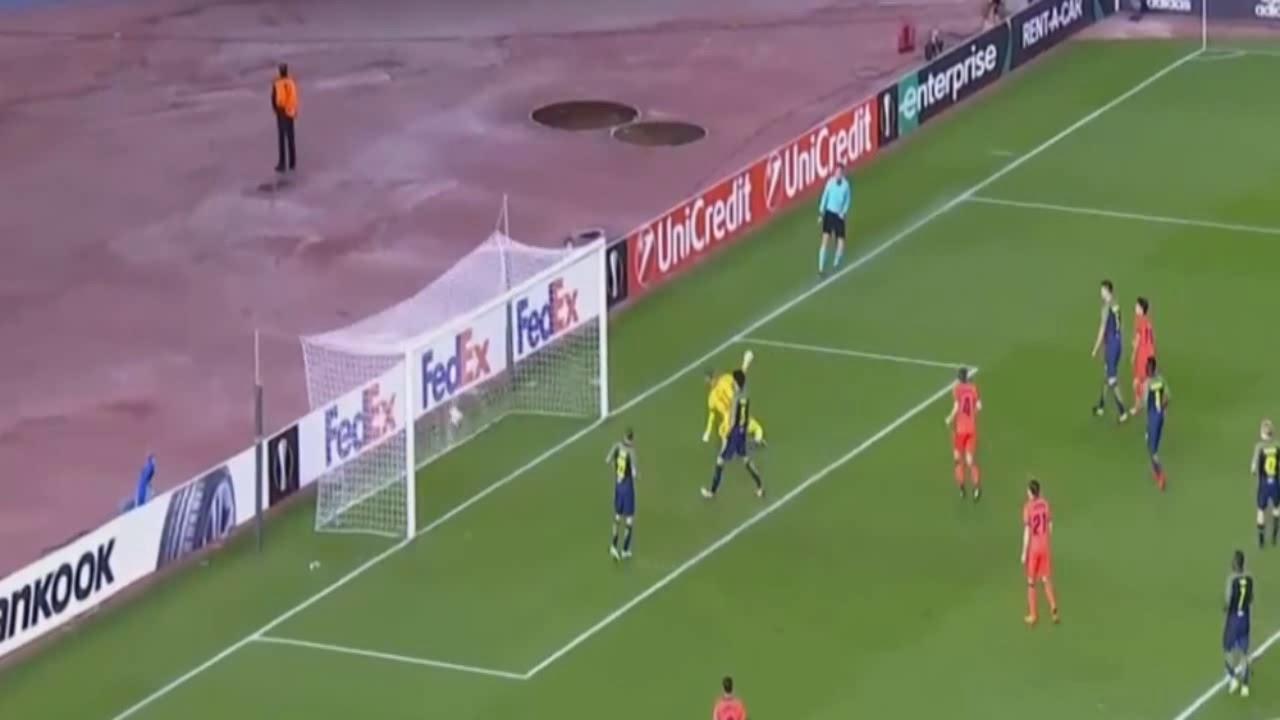Alvaro Odriozola Goal - Real Sociedad vs Salzburg 1-1 - 15/02/2018