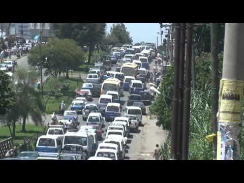 Rushhour in Addis Ababa, Ethiopia