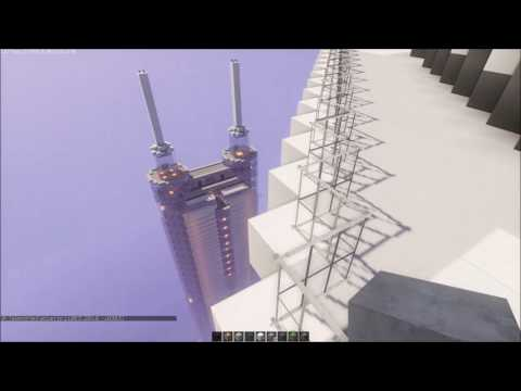 Minecraft | One World Trade Center & Shanghai Financial Tower and more (Test video)