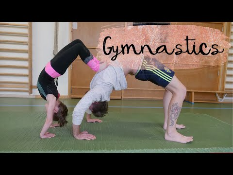 Ultimate Gymnastics Challenge - Hailey VS Robin, Reinhold edition!