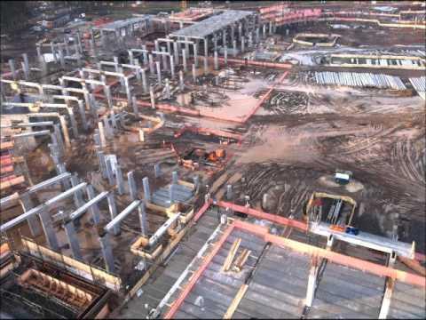 Construção da Arena do Grêmio
