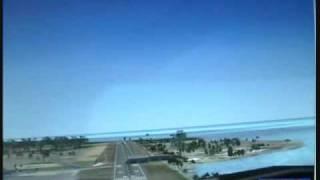 FSX Dangerous landing Gustavo Rojas Pinilla San Andres Isla