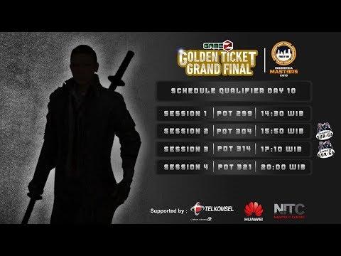 download GAMEZ GOLDEN TICKET SQUAD | QUALIFIER DAY 10
