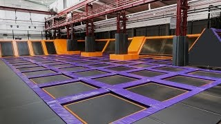 JUMP House in Berlin-Reinickendorf - Deutschlands größte Trampolinhalle