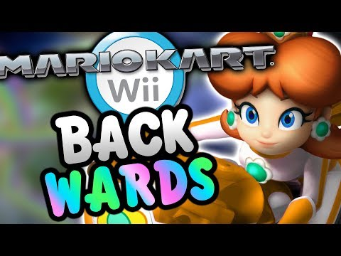 Mario Kart Wii BACKWARDS! (Nitro Tracks)