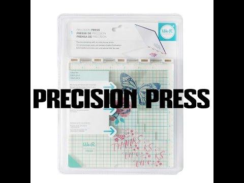 PRECISION PRESS de WRMK (présentation et test)
