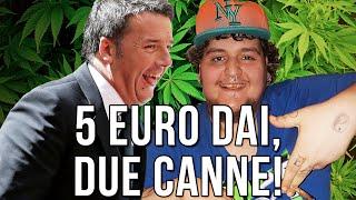 [1/3] Andrea Alongi & Matteo Renzi: 5 euro dai, 2 canne!