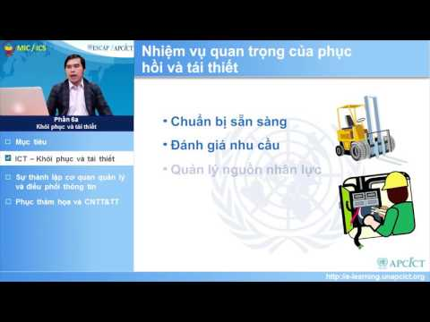 Vietnamese - Module 9: ICT for Disaster Risk Management - Session 6a