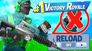 WINNING Without RELOADING Challenge! Ft. LazarBeam